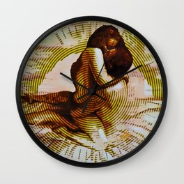 Embers Remix Wall Clock
