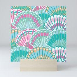 Sea Shell Pattern Mini Art Print