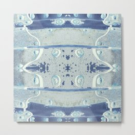ALBaMass - Blue Shades Metal Print