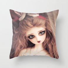 And so its Christmas Throw Pillow
