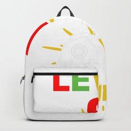 Level 9 Unlocked 9Th Birthday Shirt For Boys Gamer 1999 Backpack