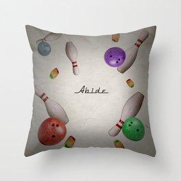 Abide Throw Pillow