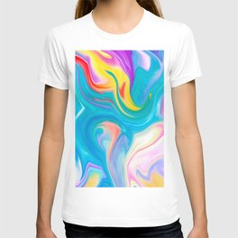 Rainbow Marble T-shirt