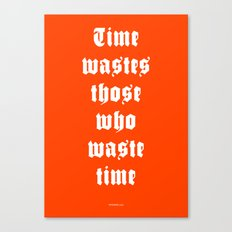 WASTED /2/ Canvas Print