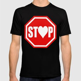 Stop In The Name of Love #1 t-shirt canvas print T-shirt