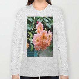 Peach Flowers Long Sleeve T-shirt