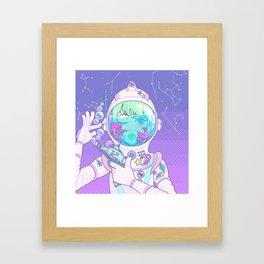 Space Bae Framed Art Print