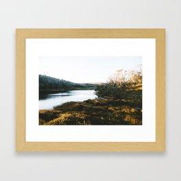 Rainbow Lake Sunrise III Framed Art Print