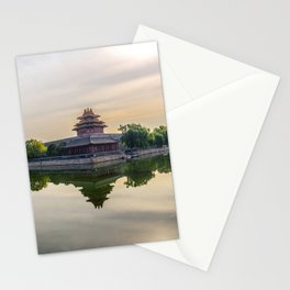 Forbidden City moat Stationery Cards