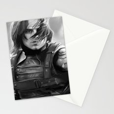 Winter Soldier/Bucky Barnes Stationery Cards