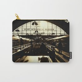 Railway Station Cologne (monochrom) Carry-All Pouch