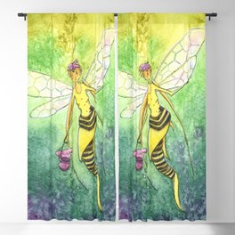 The Bee Faery Blackout Curtain