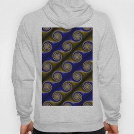 Blue Swirls Hoody