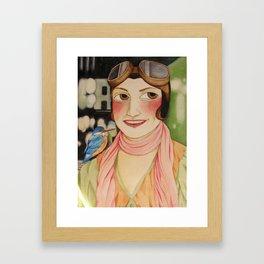Indomitable Framed Art Print