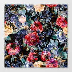 Botanic Pattern Canvas Print