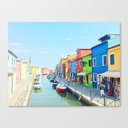 Colorful Island Canvas Print
