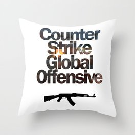 Counter Strike - Global Offensive  Throw Pillow