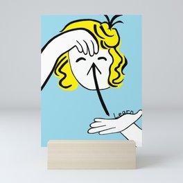ASL Learn Mini Art Print