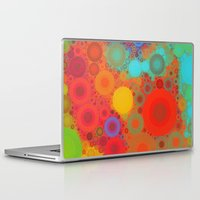 circles Laptop & iPad Skins featuring Circles by Mr and Mrs Quirynen