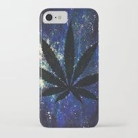 marijuana iPhone & iPod Cases featuring Marijuana Galaxy by Megan Mayhem 17