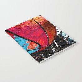 Basketball art swoosh vs 19 Notebook