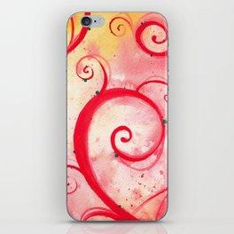 Red Garden iPhone Skin