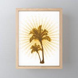 Tropical Hot Day Framed Mini Art Print