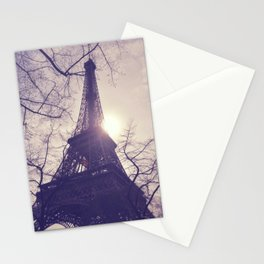 La Ville De L'amour (Paris, France) Stationery Cards