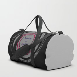 The Power of Love not the Love of Power Duffle Bag