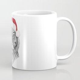 Christmas Tiger Coffee Mug