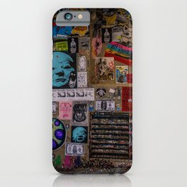 Post Alley iPhone Case