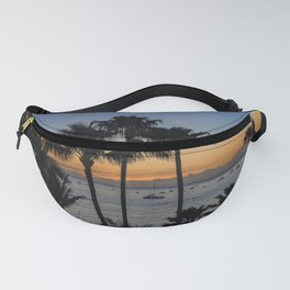 Tropical Paradise Sunset Fanny Pack