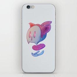Part of cat iPhone Skin