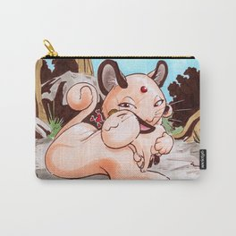 Meowth and Mom Carry-All Pouch