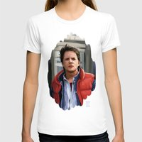 mcfly T-shirts featuring Marty McFly by Kaysiell