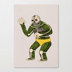The Original Glowing Skull Canvas Print