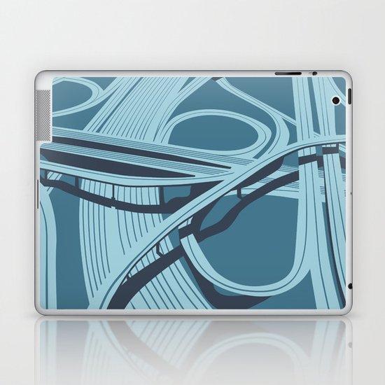 Los Angeles Freeways Laptop & iPad Skin