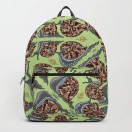Spring Time Garden Snails  Backpack