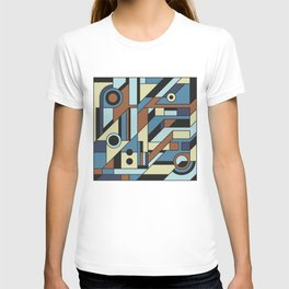 De Stijl Abstract Geometric Artwork 3 T-shirt