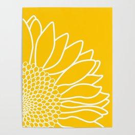 Sunflower Cheerfulness Poster