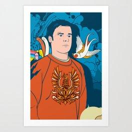 Lonex Art Print