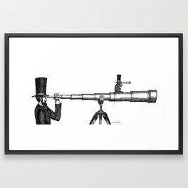 Spies Framed Art Print