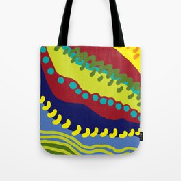 Colour Avalanche Tote Bag