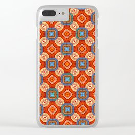 Persian Parlor Clear iPhone Case