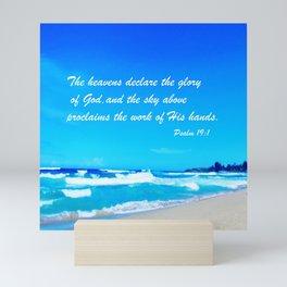 Psalm 19 Mini Art Print