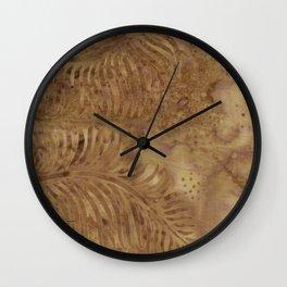 Coconut Batik 04 Wall Clock