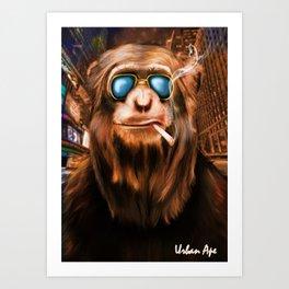The Urban Ape Art Print