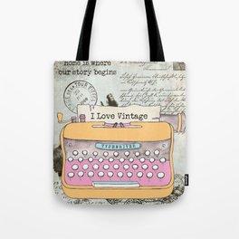 Typewriter #1 Tote Bag