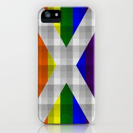 Saltire Duncarron Rainbow Plaid iPhone Case