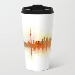 Toronto Canada City Skyline Hq v03 Travel Mug